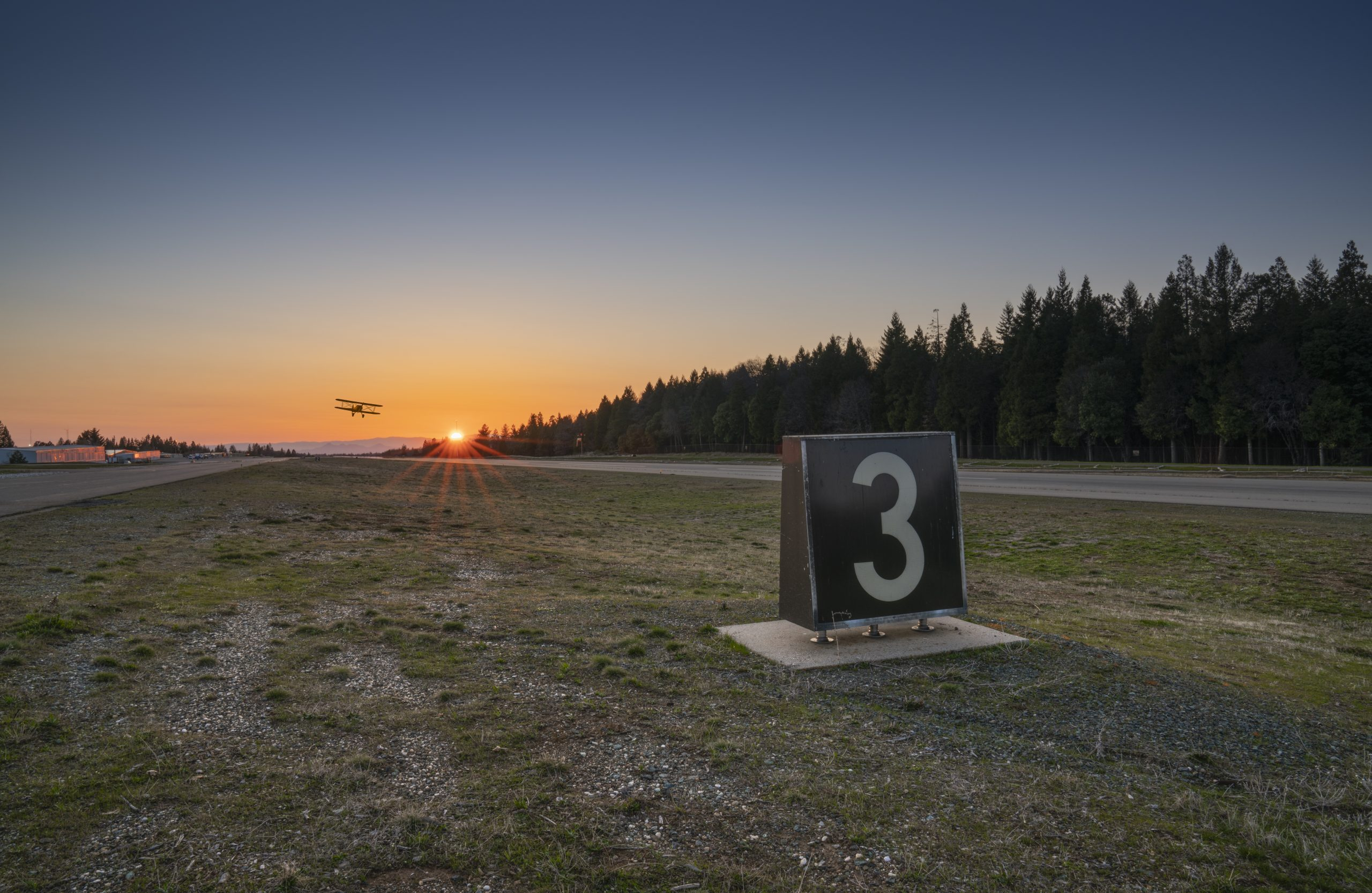 commercial security fence installation at Nevada County Airport